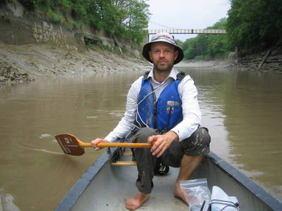 river avon new cut bristol canoeing heath bunting