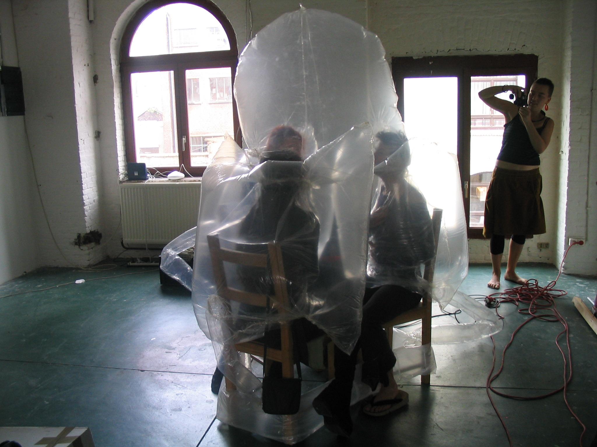Inflatable Room Foam Inflatable Workshop