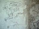 alien graffiti underpass, bristol, united kingdom (uk).