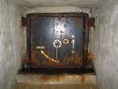 avon gorge bunker escape door , bristol, united kingdom (uk).