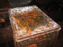 avon gorge bunker rusty trunk , bristol, united kingdom (uk).
