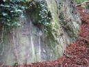avon gorge burghwalls rock shelter, bristol, united kingdom (uk).