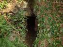avon gorge headmasters study lower cave entrance, bristol, united kingdom (uk).