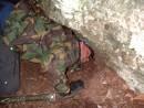 paedophiles rock shelter heath bunting, bristol, united kingdom (uk).