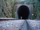 avon gorge railway sandstone tunnel , bristol, united kingdom (uk).