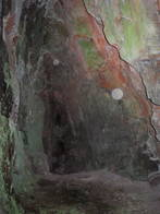 avon gorge upper cave, bristol, united kingdom (uk).