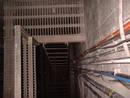bri hospital service tunnel, bristol, united kingdom (uk).