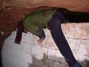 climb kayle brandon redcliffe quarry cave, bristol, united kingdom (uk).