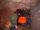 hole redcliffe quarry cave, bristol, united kingdom (uk).