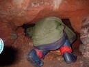 kayle brandon crouch redcliffe quarry cave, bristol, united kingdom (uk).