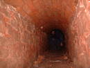 sewer graeme hogge redcliffe quarry cave, bristol, united kingdom (uk).
