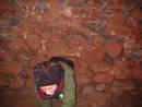 squeeze kayle brandon redcliffe quarry cave, bristol, united kingdom (uk).