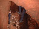 well descent graeme hogge redcliffe quarry cave, bristol, united kingdom (uk).