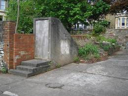 woodland road bunker, bristol, united kingdom (uk).
